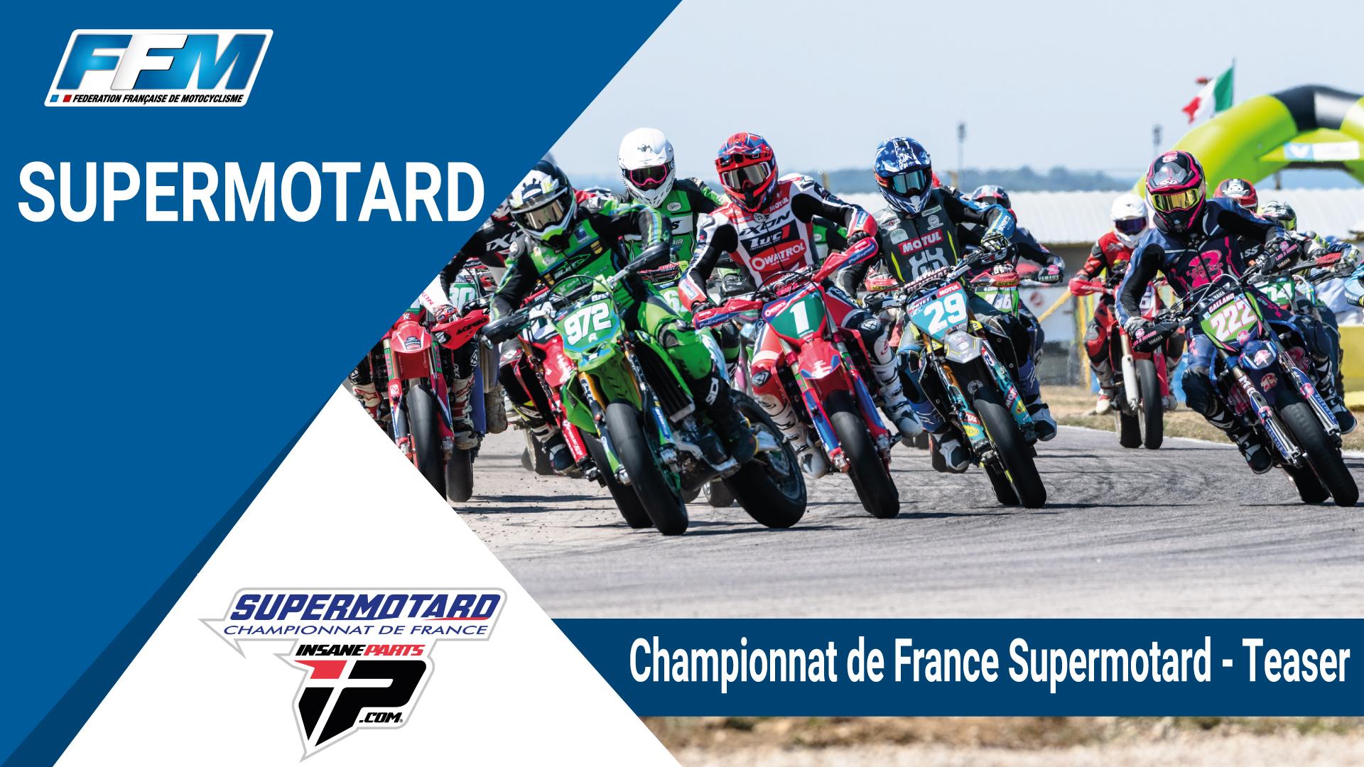 // Teaser – Championnat de France Insane Parts Supermotard //